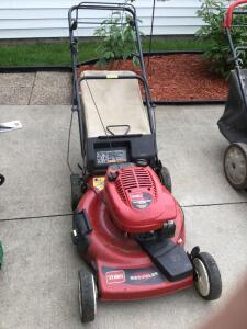 "Toro Recycler 22"" Front Drive rear bagging gas lawn mower self propelled"