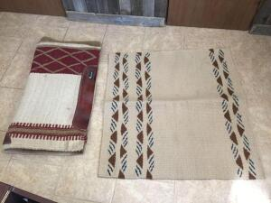Two horse blankets