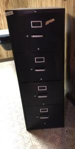 HON Four drawer legal file cabinet