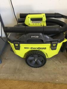 Ryobi cordless Wet/Dry vac (no battery included)