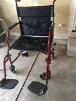 Medline wheelchair fold up style
