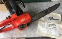 Craftsman electric chainsaw with manual