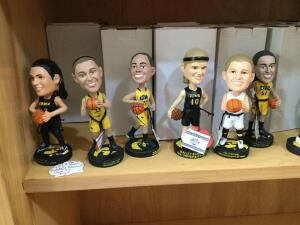 "Iowa Hawkeye basketball bobble heads, 1985 Iowa Hawkeyes football schedule and 1986 IA Hawkeyes ""Age of Bowls"""