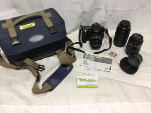 Nikon digital camera D80 and assorted lenses. See photos for details.