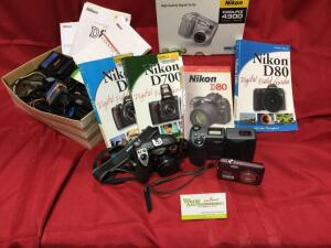 Nikon CoolPix digital cameras and accessories. Nikon coolpix 4300 New In Box. See photos.