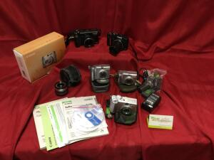 Canon PowerShot digital cameras and accessories. See photos.