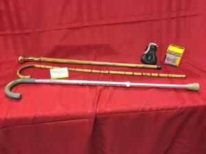Three walking sticks-check them out!