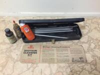 Gun cleaning kit, solvents
