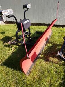 2017 Hiniker 8' snow plow w mounting for 2001 Ford 250