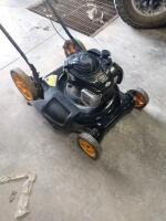 Poulan PRO 500e 140cc engine push mower