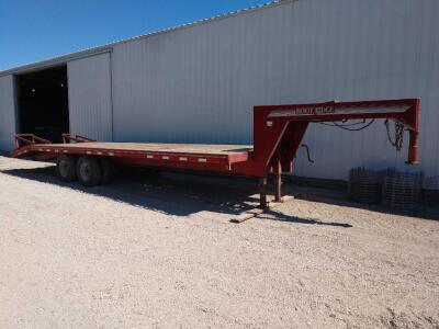 1996 Hoot ridge 24' gooseneck trailer