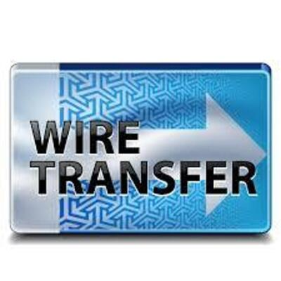 All invoice totals over $1500 will require a wire transfer