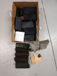 Approximately 20 HK and Cetme magazines