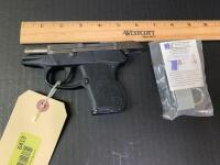 Keltec Model P-32 32 Auto pistol Serial 26012 and a KelTec trigger lock