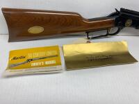 Marlin 39 century LTD 22 cal lever action rifle octagon barrel scope rail SN 14839 with original box and manual - 4