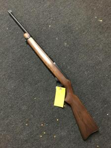 Ruger 10/22 rifle walnut stock, SN 124039
