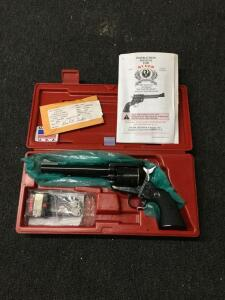 Ruger Blackhawk 44 mag revolver, 50th anniversary, new unfired SN 870-00663