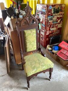 Ornate chair-it's a beauty!