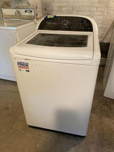 Whirlpool Cabrio platform top load washer Model WTW8500BW0 Measures 27 x 27 x 44