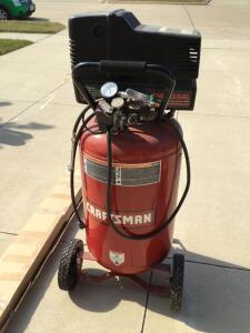 Craftsman 5 hp 22gal air compressor