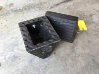 Two wheel chocks - 2
