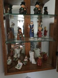 9 Goebel figurines