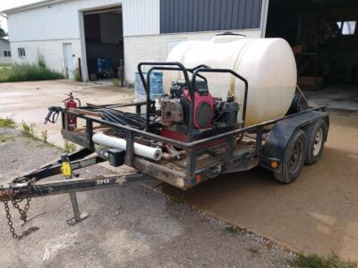 Power Wash Trailer and Equipment