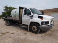 Truck mounted pressure wash system