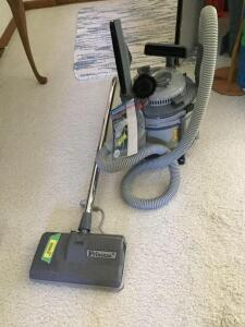 Princess II vacuum with attachments