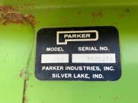 "Parker Model 2500 gravity wagon w/ Knowles gear with 12.5 - 15 tires comes with spare tires and rim,  12"" extension plus 2 x 6 board - 8"