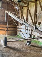 Hutchison 6in by 53 ft auger electric motor-driven 5 horsepower