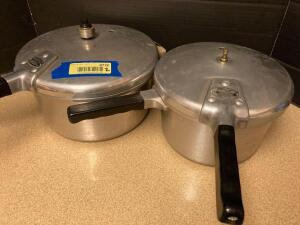 Two Magic Seal pressure cookers