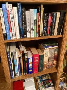 Books and picture frames-See photos
