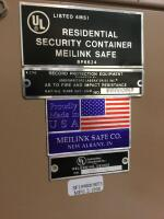 Meilink Residential Safety Container,  Fire & Impact Resistant Measures 27 x 25 x 41 Model 3121 - 4
