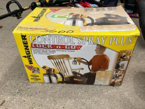 Wagner Control Spray Plus 350 watt Professional HVLP low overspray system