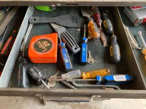 Remaining tools in cabinet excluding Lot 9092-if you need something it's probably here!!