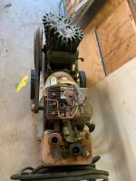Craftsman air compressor with a 3hp Briggs & Stratton gas engine. The head is off of the air compressor so working condition unknown - 4