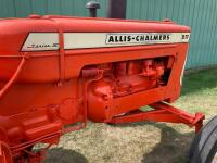 Allis Chalmers D17 gas tractor SN D17-71196 - 3