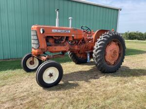 Allis Chalmers D17 gas tractor SN D17-28245
