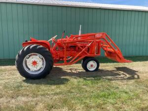 Allis Chalmers D15 tractor SN D15-2534