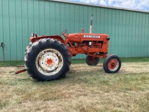 Allis Chalmers D14 gas tractor SN D14-10141