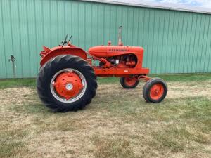 Allis Chalmers WD45 gas tractor SN 45-89792-G