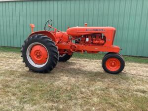 Allis Chalmers WC tractor SN W86776G
