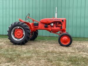 Allis Chalmers CA tractor SN CE82948PA