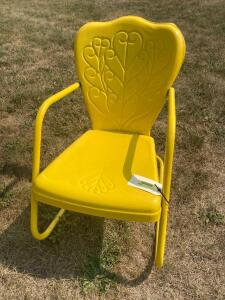 Retro patio chair