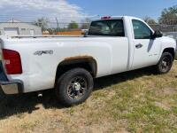 2008 Chevy Silverado pickup, 4x4, auto, runs, seat belts inoperable, Vortex V8