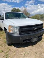 2008 Chevy Silverado pickup, 4x4, auto, runs, seat belts inoperable, Vortex V8 - 3