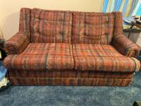 "Loveseat sofa 63"" long"