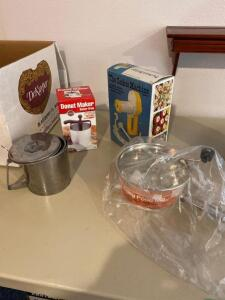 The Cookie Machine, Donut Maker, Food Mill