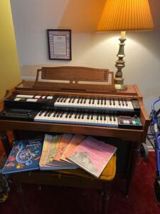 Lowry Organ, organ music books, Disney Song book